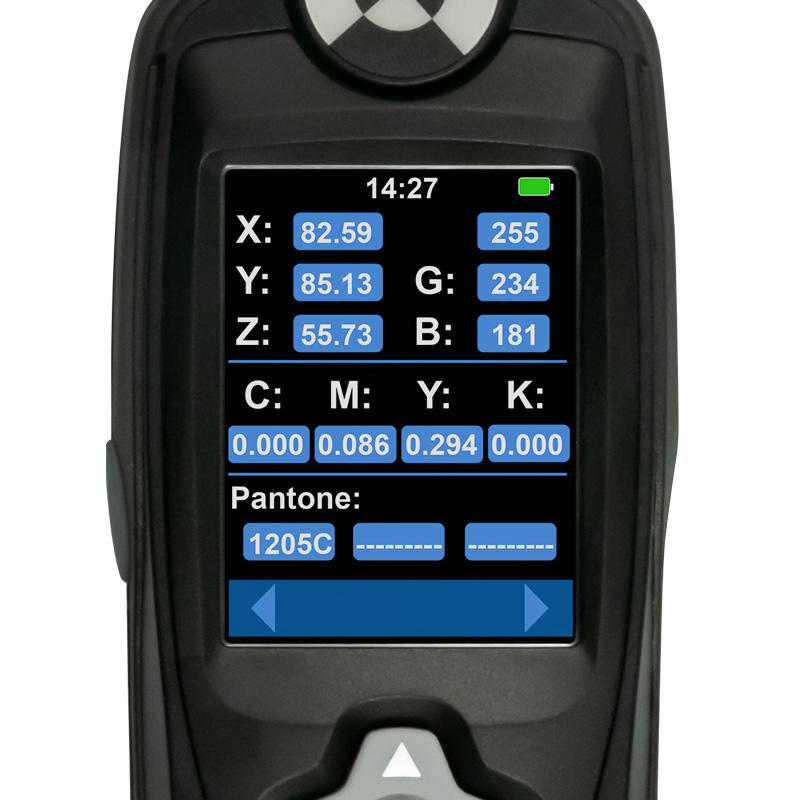Farbmessgerät PCE-XXM 20 Display