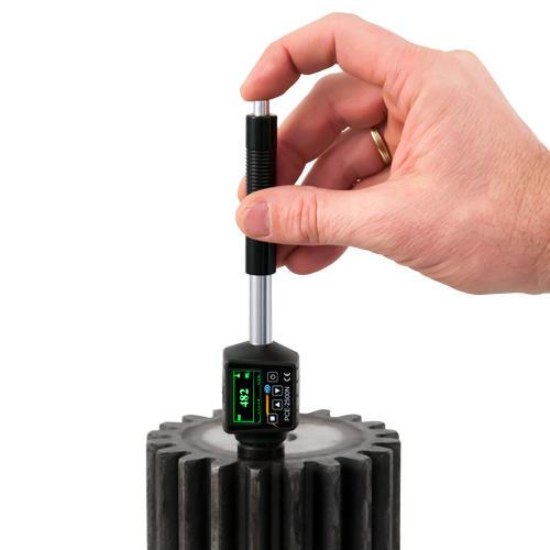 Härteprüfer PCE-2500N Testblock