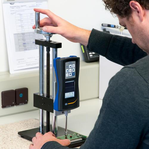 Kraftmessgerät PCE-DFG N 500 Anwendung