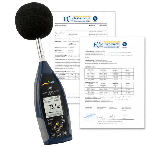 Schallpegelmesser PCE-430