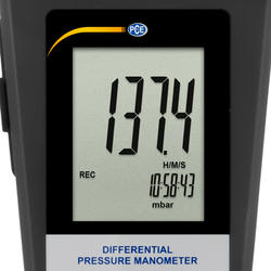 Differenzmanometer PCE-P01