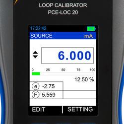 Schleifen-Kalibrator PCE-LOC 20
