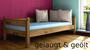 Dahlhaus Massivholzbett Stockholm 1 Kiefer weiß, natur, blau, schwarz, gelaugt