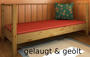 Massivholzbett Veranda Dahlhaus Kiefer weiß, natur, blau, schwarz, gelaugt